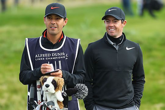 Harry Diamond with best mate Rory McIlroy
