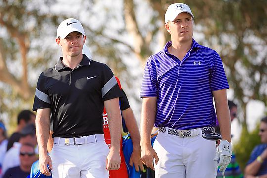 Rory McIlroy vs Jordan Spieth