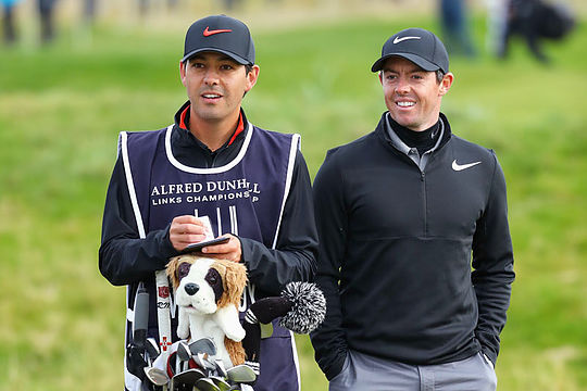 Rory McIlory and Harry Diamond