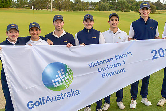 Royal Melbourne Div 1 Pennants Team