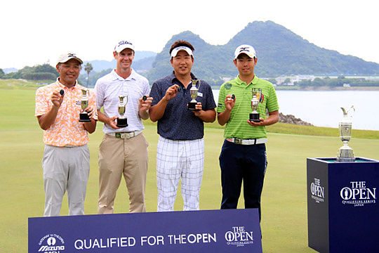 Scott Strange and three other players qualified for the 2015 Open Championship