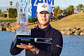 Kim wins American Express, Davis secures third place