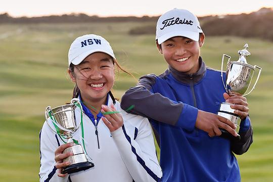 Sophie Yip and Kazuma Kobori