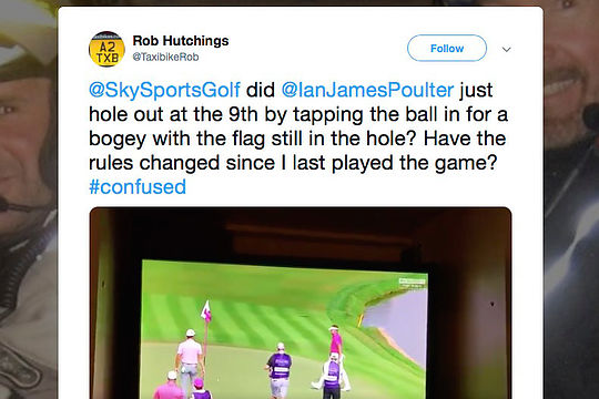 Rob Hutchings' tweet