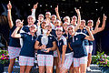Team USA retains Solheim Cup with five point win