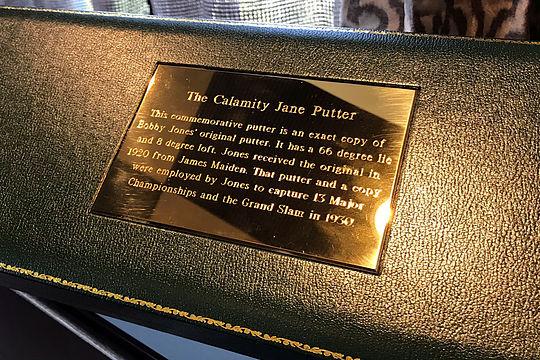 Tiger Woods' Calamity Jane Putter