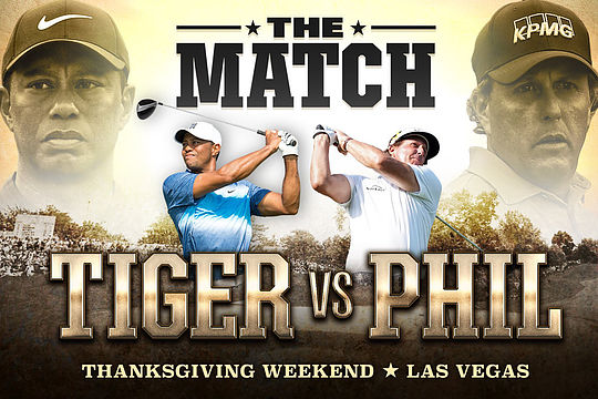 The Match - Tiger Woods vs Phil Mickelson