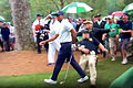 Security guard almost ends Woods' Masters campaign
