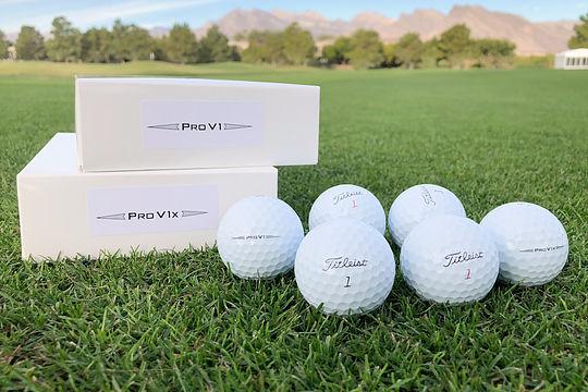 2019 Titleist Pro V1 and Pro V1x golf balls