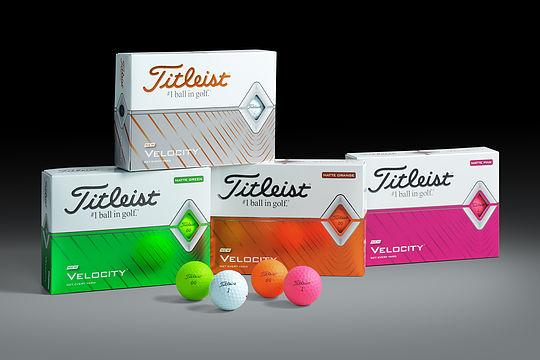 Titleist introduces 2020 Velocity Golf Balls
