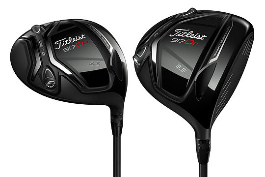 Titleist 917 D2 and D3 Drivers