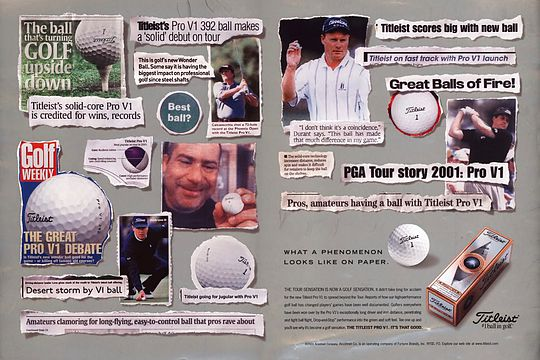 Titleist Pro V1 celebrates 15th anniversary