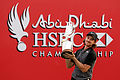 Fleetwood holds off Johnson for Abu Dhabi title