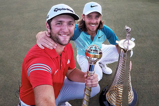 Jon Rahm and Tommy Fleetwood
