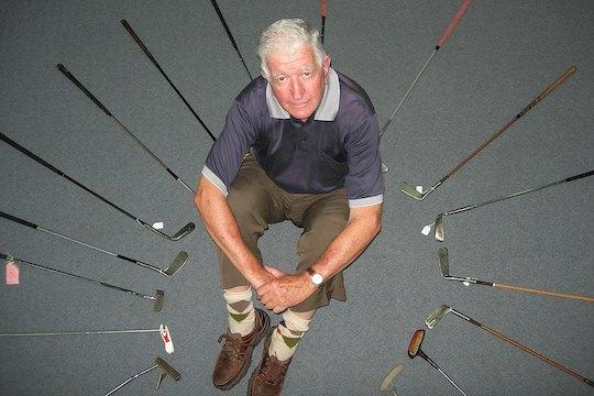 Sydney Golf Museum curator Tom Moore