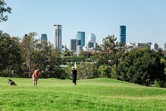 Brisbane's Victoria Park Golf Course