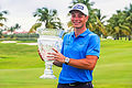 Hovland beats Woods, McIlroy to first PGA Tour win