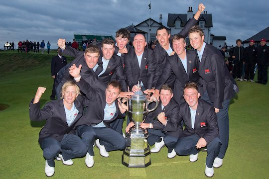 Great Britain & Ireland win Walker Cup