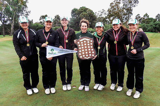 The Grange won the 2015 Golf SA Women's Pennants