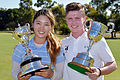 Hong, Purcell capture Australian Amateur titles
