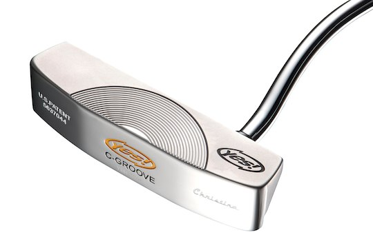 Yes! Golf Christina C-Groove Putter